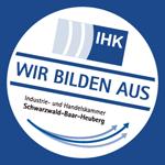 """IHK-Siegel """"Wir bilden aus"""""""