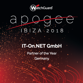 WatchGuard - Partner of the Year 2018 Germany
