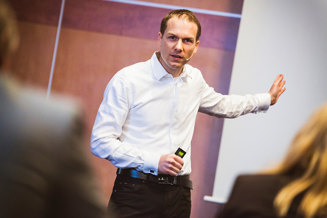 IT-On-NET Neujahrsempfang 2018 | Premium-Speaker Patric Heizmann